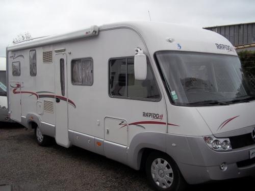 camping car rapido 996m mercedes en occasion. Black Bedroom Furniture Sets. Home Design Ideas