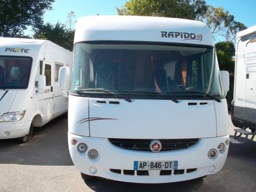 camping car rapido 927f fiat alko double plancher en. Black Bedroom Furniture Sets. Home Design Ideas