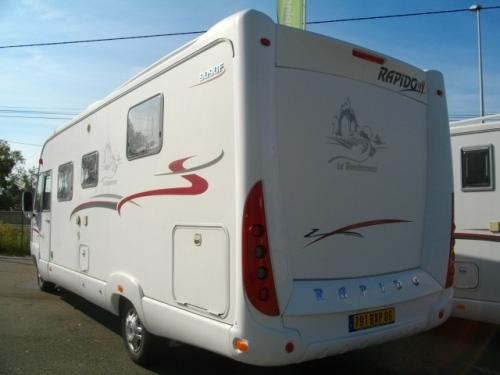 camping car rapido 9090f fiat alko double plancher en occasion. Black Bedroom Furniture Sets. Home Design Ideas