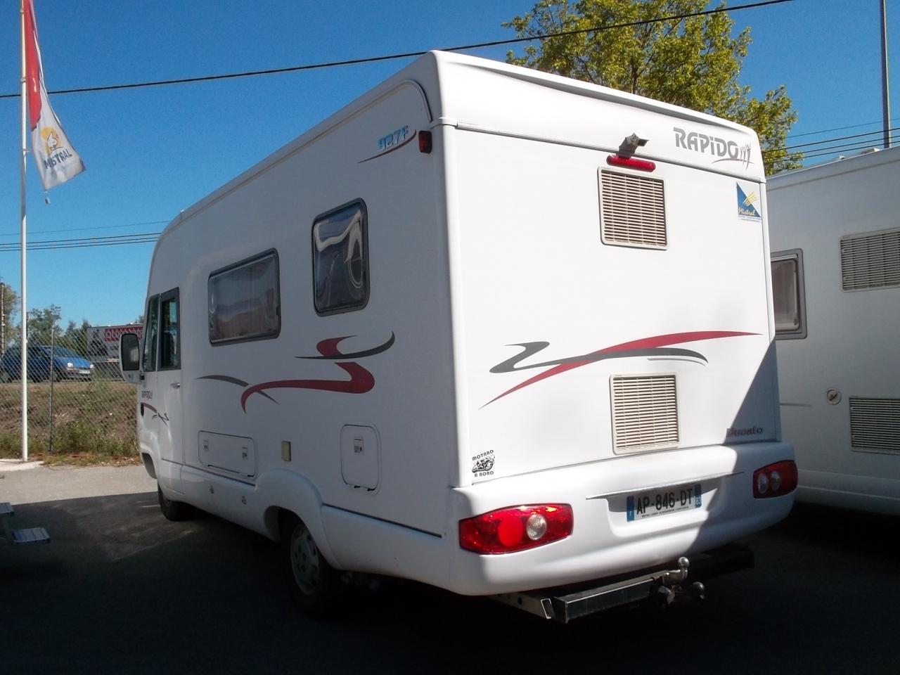 camping car rapido 927f fiat alko double plancher en occasion. Black Bedroom Furniture Sets. Home Design Ideas