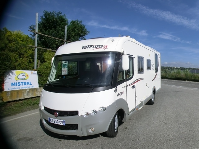 camping car rapido 991df fiat en occasion. Black Bedroom Furniture Sets. Home Design Ideas